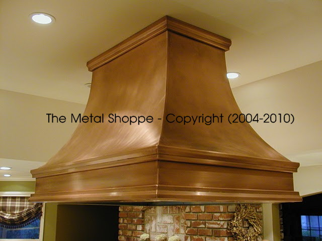 Copper  Metal Kitchen Hoods  CUSTOM COPPER  METAL KITCHEN HOODS
